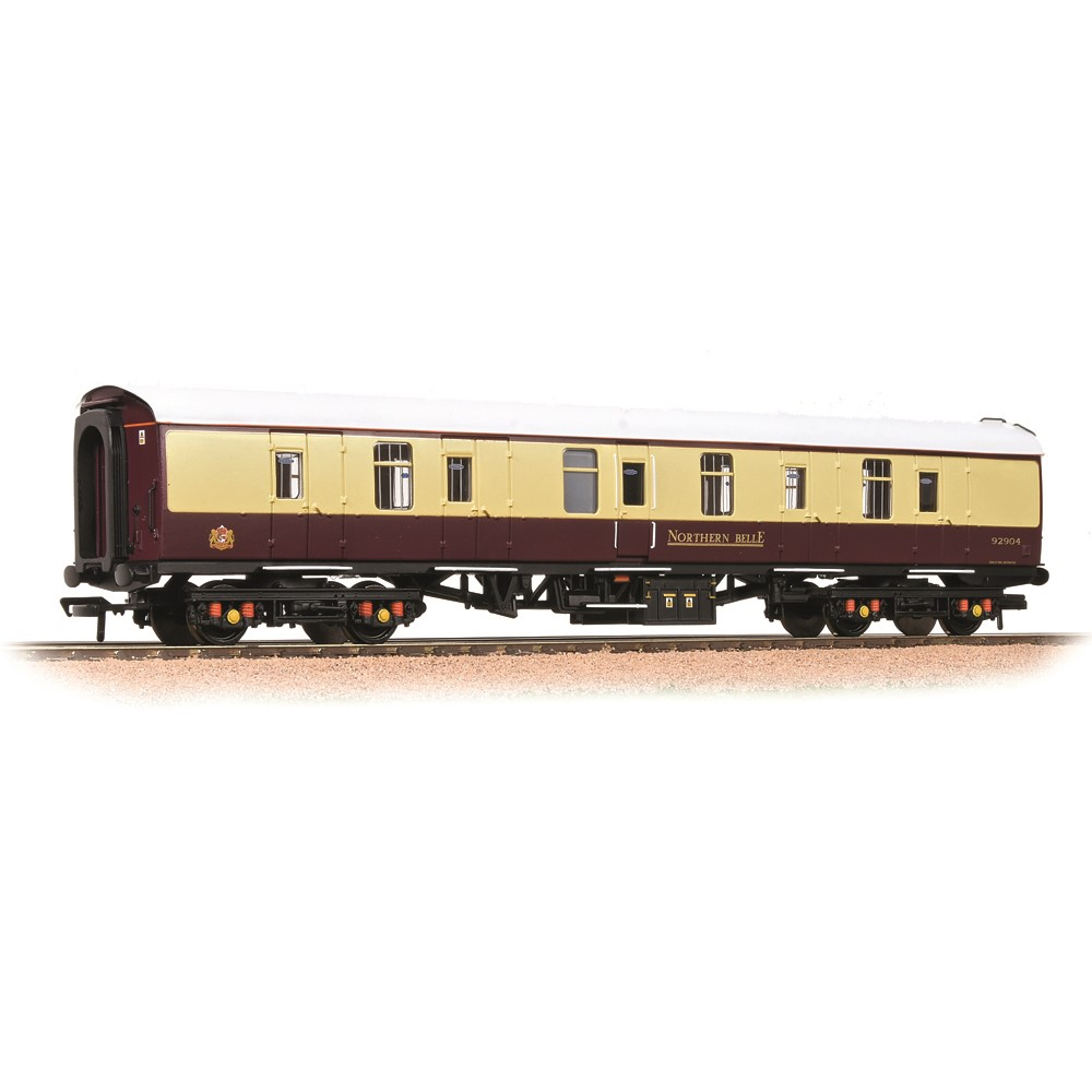 BR Mk1 BG Full Brake Northern Belle Maroon & Cream
