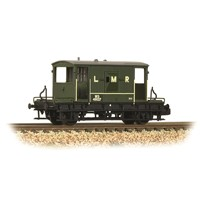 20 Ton Brake Van LMR Green