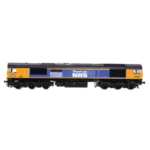 32-980K Pride of Britain Train Pack - OO Scale Class 66