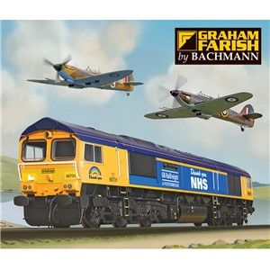 371-396K Graham Farish Pride of Britain Train Pack - Box Artwork
