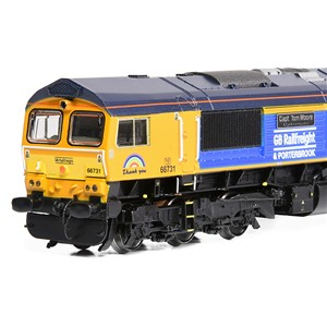 371-396K Graham Farish Pride of Britain Train Pack - N Scale 66 Close Up