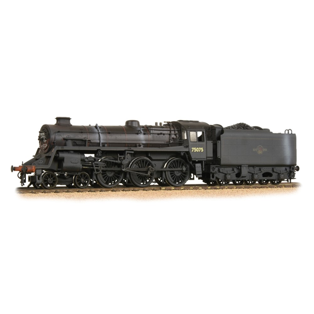 Standard Class 4MT 75075 BR Black Late Crest Weathered