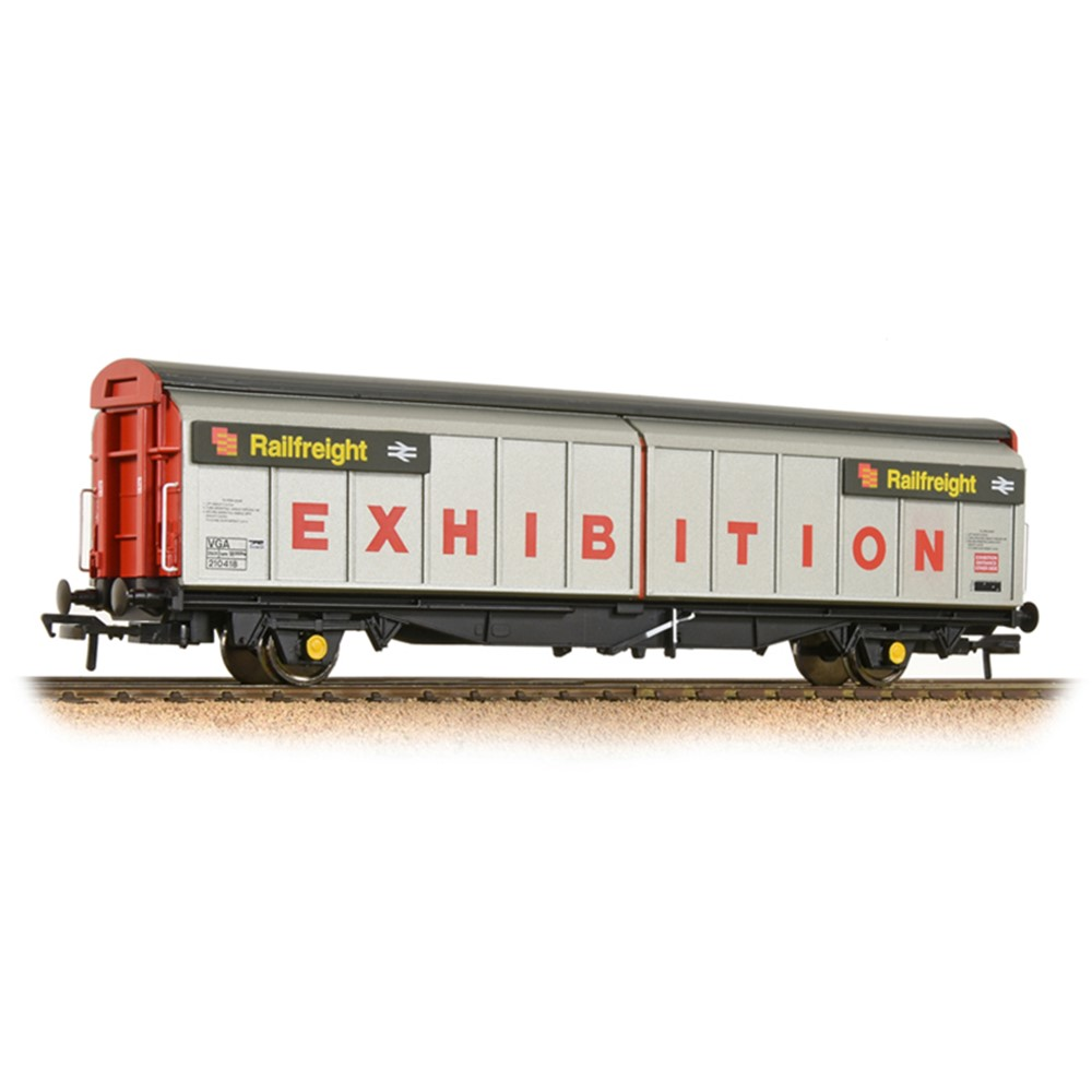46 Tonne VGA Van BR Railfreight 'Exhibition' Grey & Red